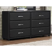 Contemporary Black Dresser - Lorenzi