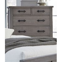 Rustic Contemporary Gray Chest of Drawers - Austin