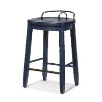 Blue Counter Height Stool -Trisha Yearwood Collection