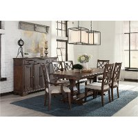Coffee 7 Piece Dining Set - Trisha Yearwood Collection