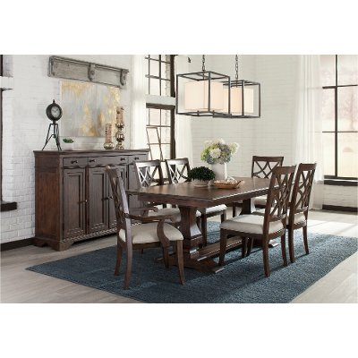 coffee 7 piece dining set trisha yearwood collection