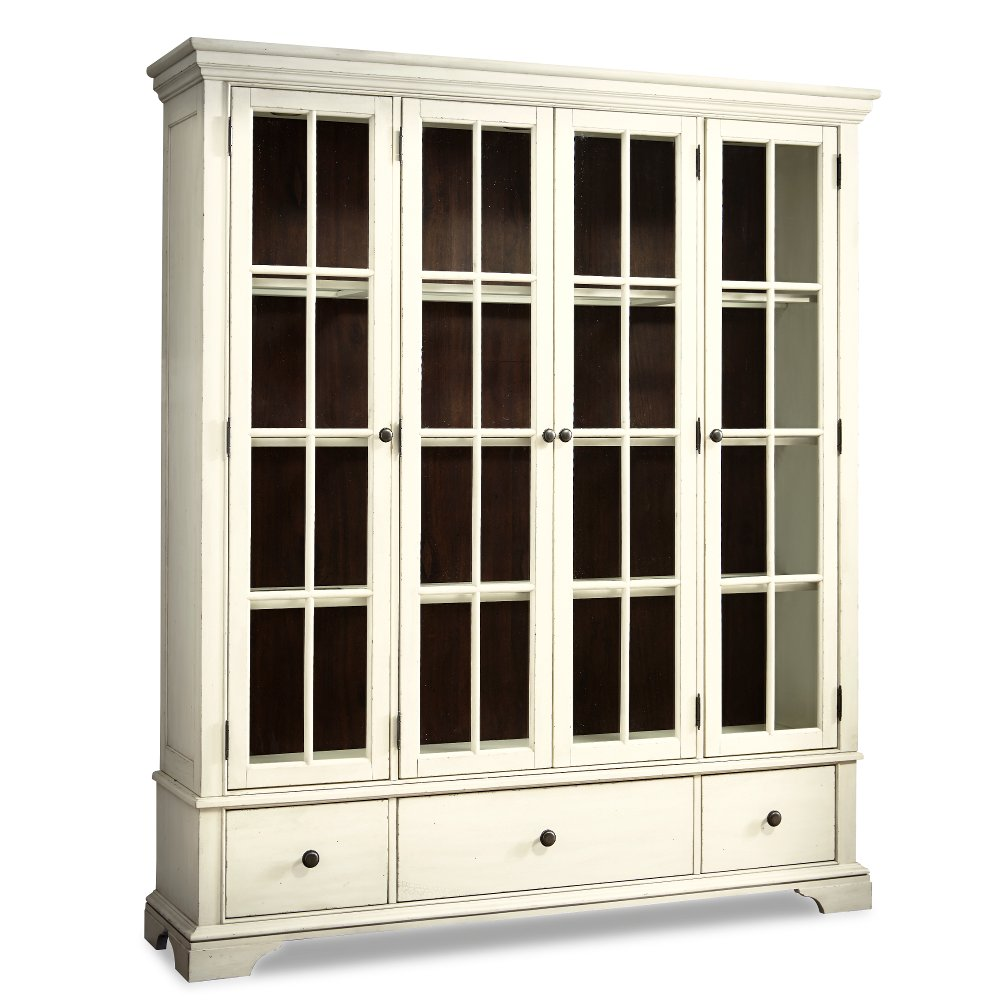 Cream Large Curio Cabinet   Trisha Yearwood Collection | RC Willey  Furniture Store