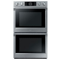 NV51K7770DS Samsung 30 Inch Smart Double Wall Oven with Steam - 10.2 cu. ft. Stainless Steel