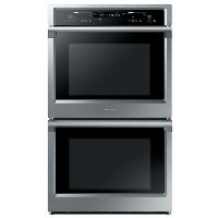 NV51K6650DS Samsung 30 Inch Smart Double Wall Oven - 10.2 cu. ft. Stainless Steel