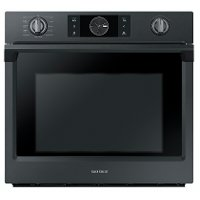 NV51K7770SG Samsung Single Wall Oven - 5.1 cu. ft. Matte Black Stainless Steel