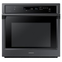 NV51K6650SG Samsung 30 Inch Smart Single Wall Oven with Steam - 5.1 cu. ft. Black Stainless Steel