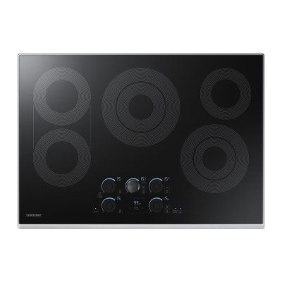 nz30k7570rs samsung 30 black smoothtop electric cooktop
