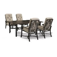 Chatham Collection 5 Piece Outdoor Patio Dining Set