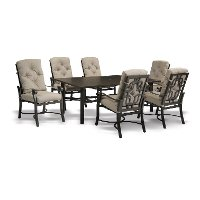 Chatham Collection 7 Piece Outdoor Patio Dining Set