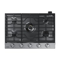 NA30K7750TS Samsung 30 Inch Smart Gas Cooktop with Bluetooth Connectivity - Stainless Steel
