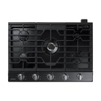 NA36K7750TG Samsung 36 Inch Gas Cooktop - Black
