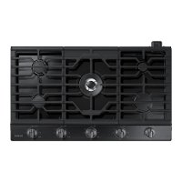 NA36K6550TG Samsung 36 Inch Gas Cooktop - Black