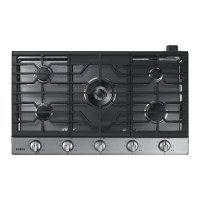 NA36K6550TS Samsung 36 Inch Gas Cooktop - Stainless Steel