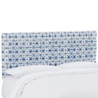 750TFLMAZR Filmore Azure Blue Upholstered Twin Headboard