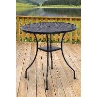 28 Inch Round Outdoor Patio Bistro Table