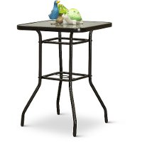 South beach collection 24 round pub table rc willey for 99 pub table