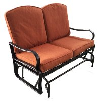 Cameron Collection Outdoor Patio Glider Love Seat Rc