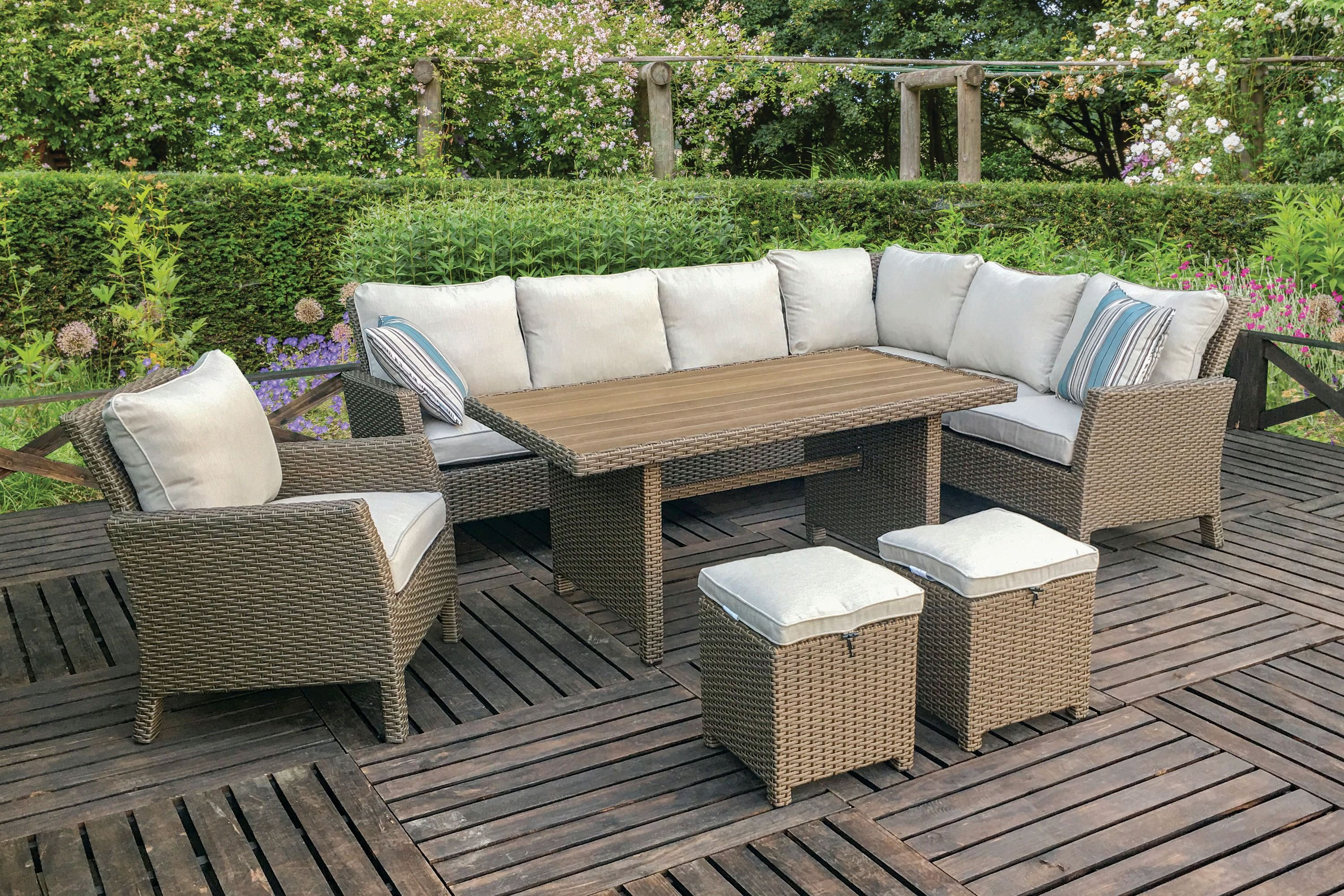 Rc Willey Patio Furniture Willowbrook 7 Piece Dining Set RC Willey