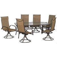 Mayfield Collection 7 Piece Outdoor Patio Dining