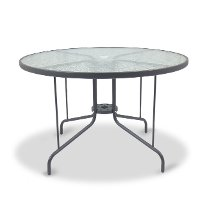 45 Inch Round Outdoor Patio Table - Genevieve