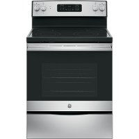 JB645RKSS GE 5.3 cu. ft. Electric Range - Stainless Steel