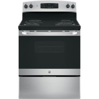 JBS27RKSS GE 5.0 cu. ft. Coil Electric Slide-in Range - Stainless Steel