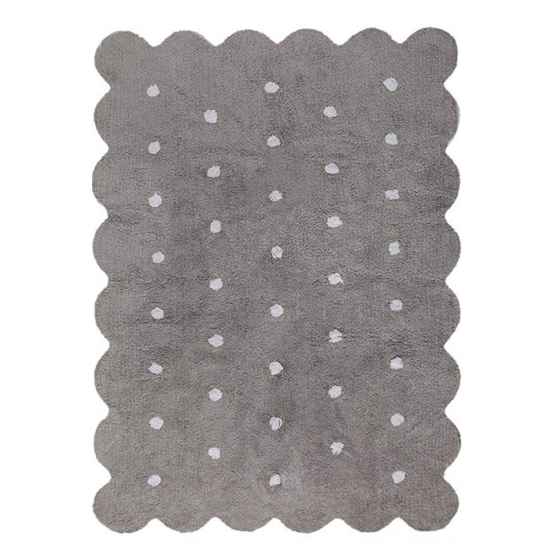 4 x 5 small biscuit gray washable rug rcwilley image1~800