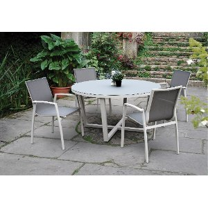 ... Kedo Collection 5 Piece Patio Dining Table