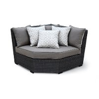 Outdoor Patio Sectional Wedge - Veranda