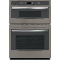 PT7800EKES GE Profile 30 Inch Combination Wall Oven with Microwave - 6.7 cu. ft.Slate