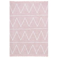 C-HY-P 4 x 5 Small Hippy Soft Pink Washable Rug