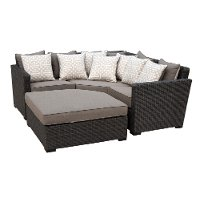 3 Piece Outdoor Patio Sofa Sectional - Veranda