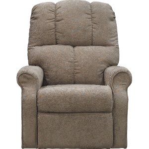 ... Mushroom Tan Power Reclining Lift Chair  sc 1 st  RC Willey : recliner with lift - islam-shia.org