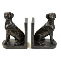 Black Jack Dog Bookend Pair