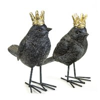 Assorted Bird with Crown