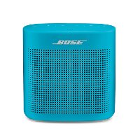 SNDLNK-COLOR-II,BLU Bose SoundLink Color Bluetooth Speaker II - Aquatic Blue