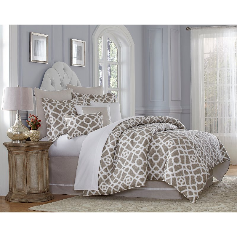 Harper King 10 Piece Bedding Collection