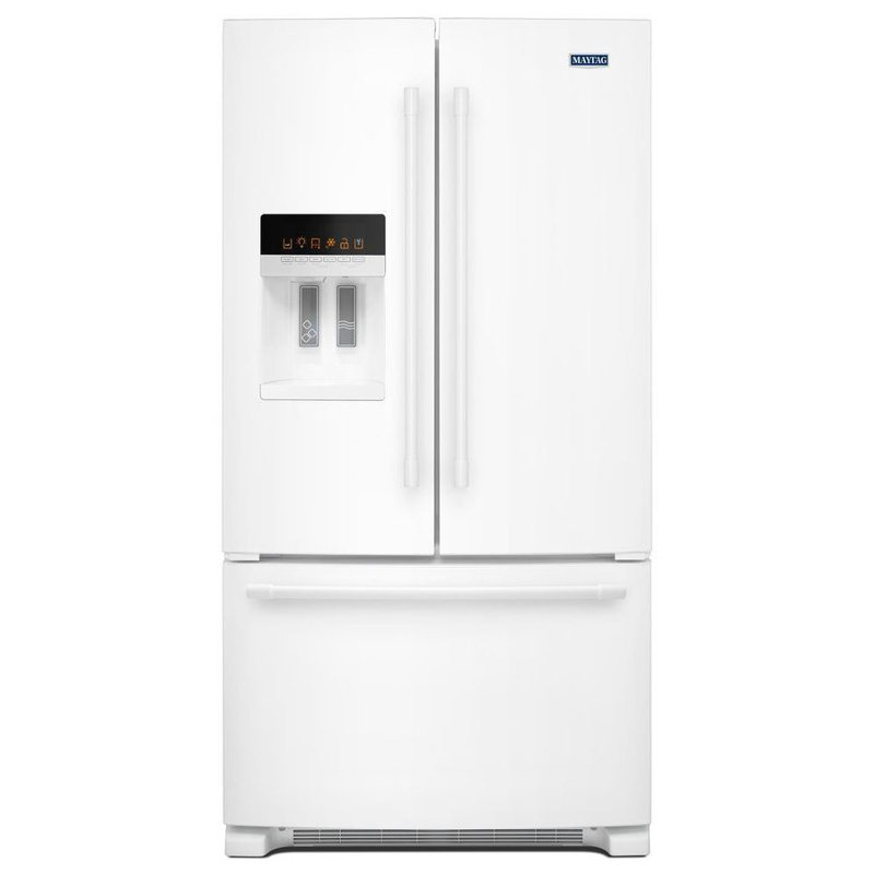 Maytag French Door Refrigerator 36 Inch White Rc Willey