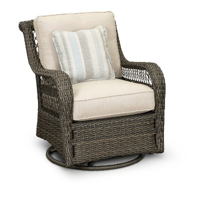 ... Riviera Collection Outdoor Patio Swivel Glider Chair
