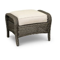 Outdoor Patio Ottoman - Riviera