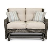 Outdoor Patio Love Seat Glider - Riviera