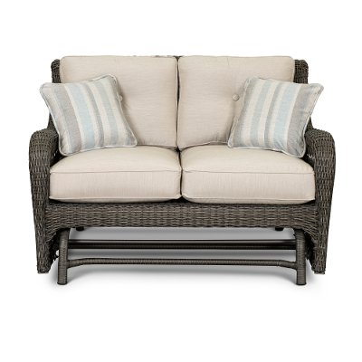 Riviera Collection Outdoor Patio Love Seat Glider - Riviera Collection Outdoor Patio Love Seat Glider RC Willey