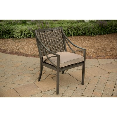 Woven Patio Arm Chair - Davenport