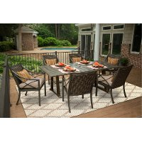 Davenport Collection 5 Piece Patio Dining Table Set