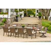 Davenport Collection 9 Piece Outdoor Patio Dining Set