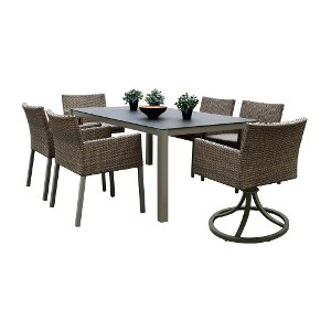 ... 7 Piece Outdoor Patio Dining Set   South Beach