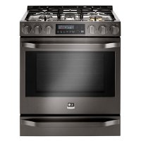 LSSG3019BD LG STUDIO Gas Range - 6.3 cu. ft. Black Stainless Steel