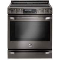 LSSE3029BD LG STUDIO Electric Range - 6.3 cu. ft. Black Stainless Steel