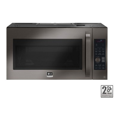 LSMC3089BD LG  STUDIO Over the Range Microwave - 1.7 cu. ft. Black Stainless Steel
