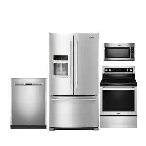kit maytag 4 piece kitchen appliance package with electric range kitchen appliance packages searching maytag   rc willey furniture      rh   rcwilley com